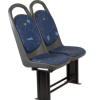 UPHOLSTERED CITY SEAT
